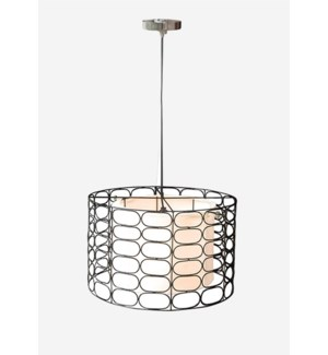 (LS) Vasha Hanging Lamp (19.5X19.5X14)