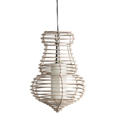 "(SP) Sienna Hanging Lamp (M) (14""X14""X21.5"")"