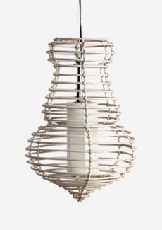 "(SP) Sienna Hanging Lamp (M) (14""X14""X21.5"")"
