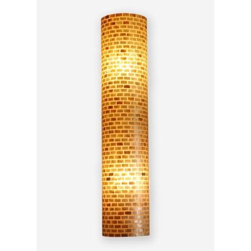 (LS) Valentti Half Round Wall Lamp-L  (12x6x75)