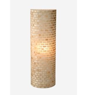 (LS) Valentti Half Round Wall Lamp-M (12X6X55)