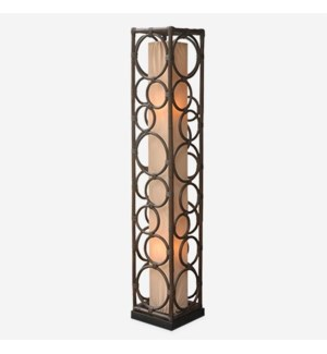 (LS) Roman multi circle design decorative floor lamp-L (10X10X53)