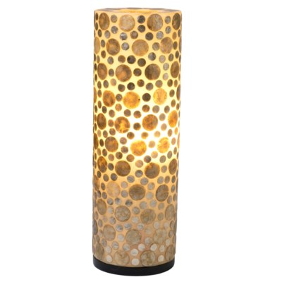 (LS) Bubbless Decorative Round Table Lamp -L (8X8X25)