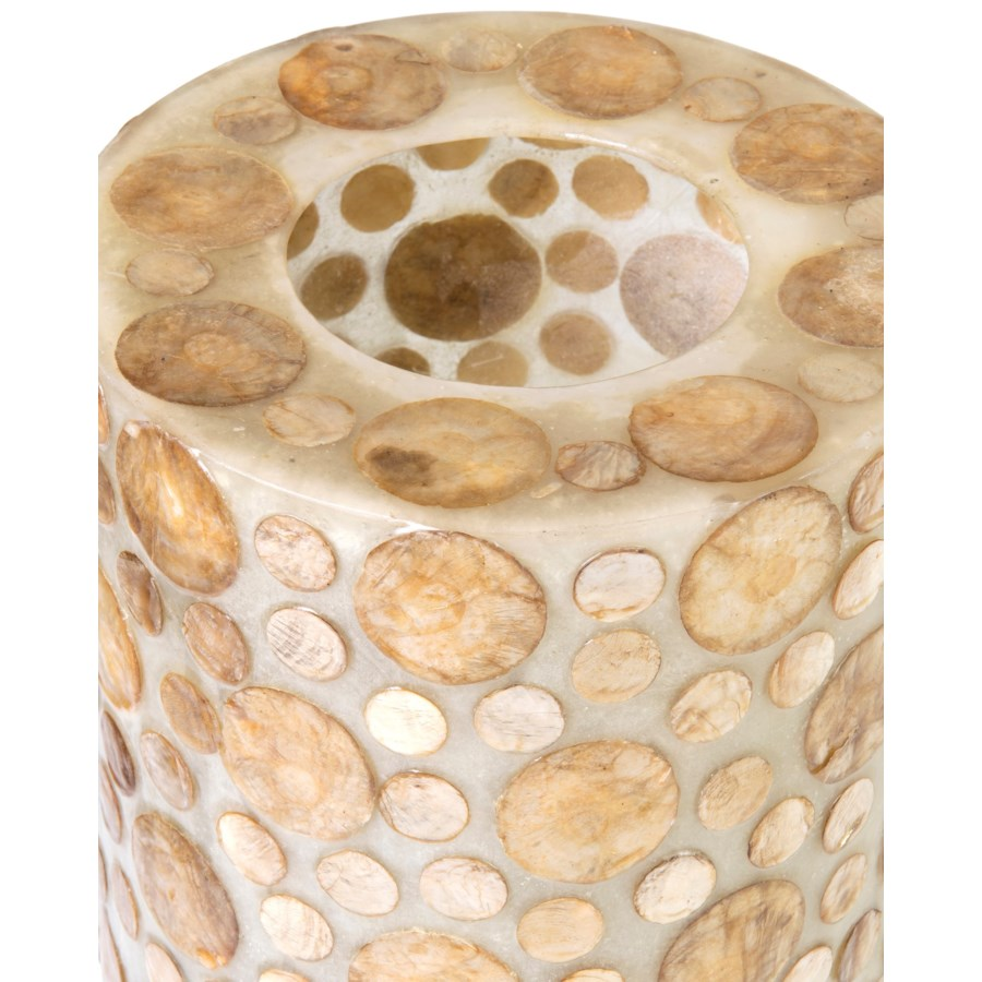 (LS) Bubbless Decorative Round Table Lamp -L (8X8X25)