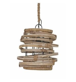 Oceola Hanging Lamp-C-Kuboo Grey..(18X18X19)..