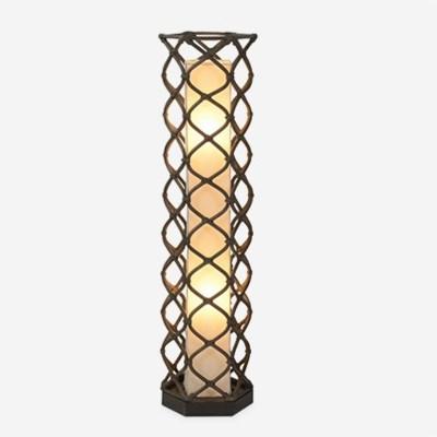 (LS) Aragon Standing Lamp - Medium - Grey Wash