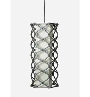 Aragon Hanging Lamp (12x12x25.5)