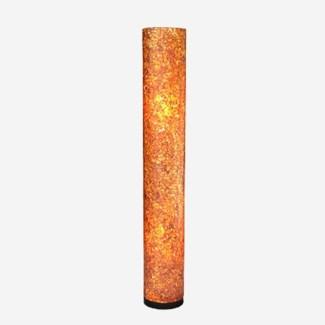 (LS) Viona Round Standing Lamp - Medium - Orange (8X8X53)