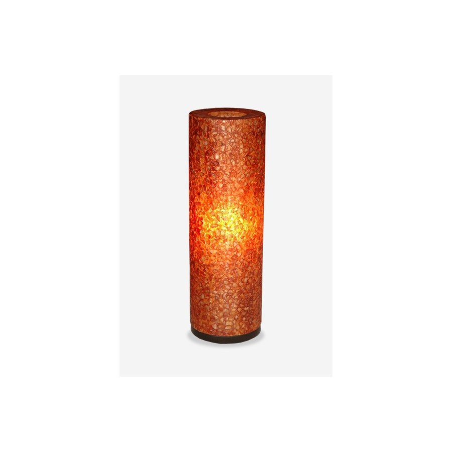 Round Table Orange.Ls Viona Round Table Lamp Large Orange 8x8x24 Table Lamps