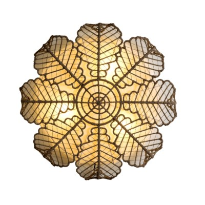 Magnolia Wall Lamp (49X49X12)