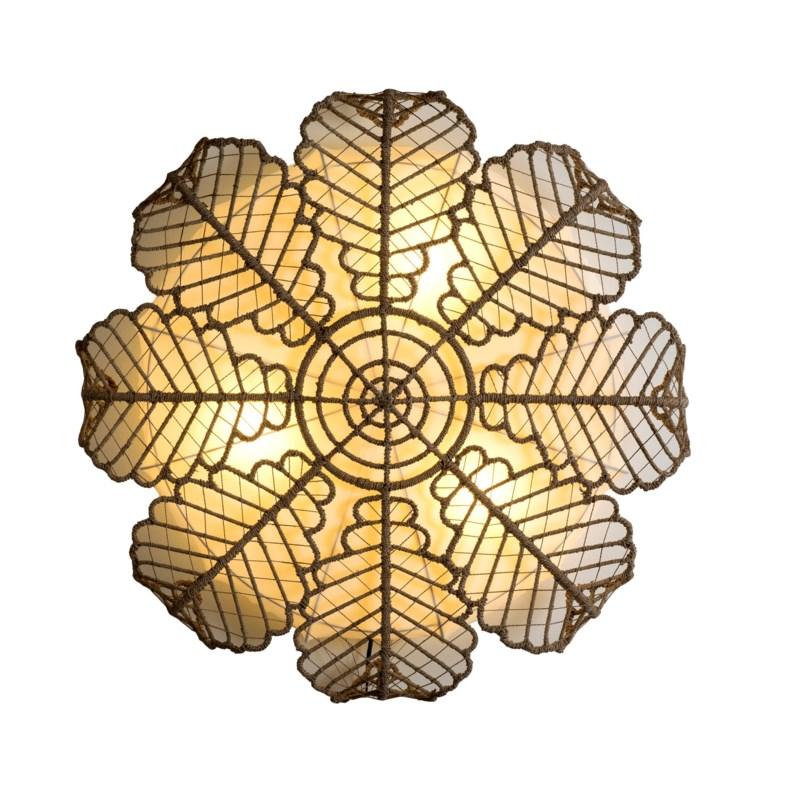 Magnolia Wall Lamp (49X49X12)