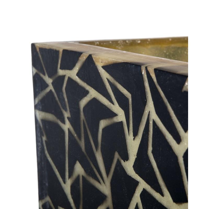 (LS) Artistry Rosas Square Planter Lamp (16x16x71)