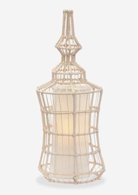 (LS) Silhoutte Table Lamp Wide C (10X10X24;12x12x30)....