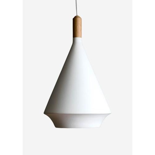(LS) Cape modern fiber pendant..(12X12X19)