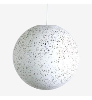 Luna decorative fiber pendant - Large..(22X22X22)..