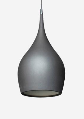 """(LS) 10""""X10"""" Teardrop fiberglass pendant (small)..(10.25X10.25X24.5).."""