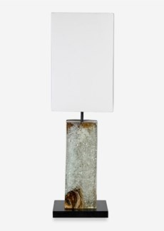 (LS) Uptown Icy Table Lamp - Clear