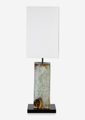 (SP) Uptown Icy Table Lamp - Clear