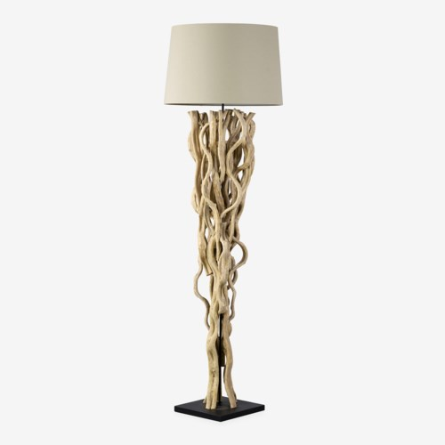"(LS) 70""H Branch Floor Lamp with Round Shade (19x21.6x73)..""2 BOXES PER ITEM"""