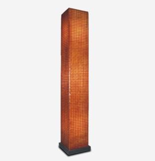(LS) Modern Square Standing Lamp (L) (14x14x77)