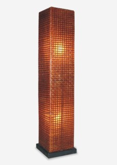 (LS) Modern Square Standing Lamp (M)  (14x14x57)