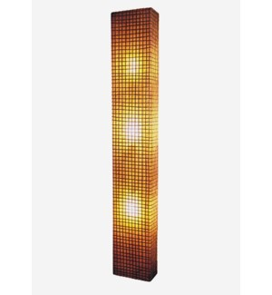 (LS) Modern Box Wall Lamp (L) (Peel Oval) (12x6x75)