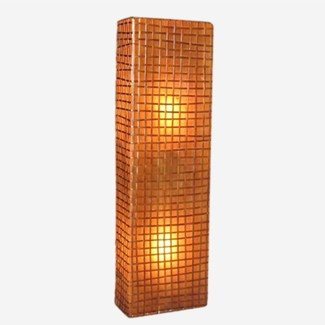 (LS) Modern Box Wall Lamp (M) (Peel Oval) 12x6x55