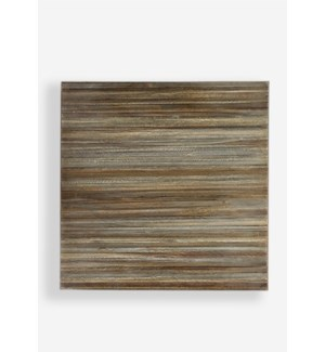(LS) Colton Wall Decor-Grey..(18x1.5x18)