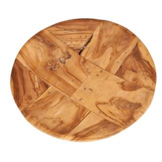 (SP) Mosaic Wood Bowl - Large (23.5X23.5X5)