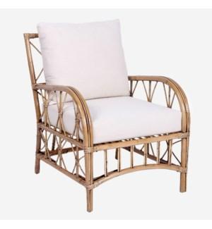 Vara Occasional Chair, Honey Brown