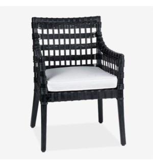 Danae Arm Chair - Black