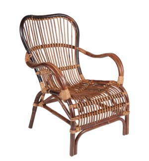 Delaney Rattan Arm Chair