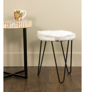 Safari Stool in freeform legs