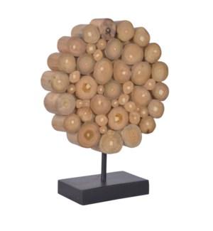 (LS) Small Grayson Round Decorative on stand..(10x4x13)..