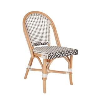 Outdoor Camelot Bistro Chair - MOQ 2 (package: 2pcs/box) price is per piece (17X24X35) Synthetic Wi