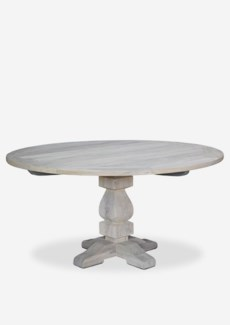 Sunset outdoor Round Dining Table - (47x47x30) - white