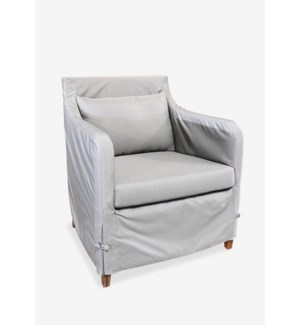(LS) Sorento outdoor upholstered chair..(28X28.5X30.5)....
