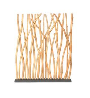 Branch Teak Wood Divider (59x7x70)