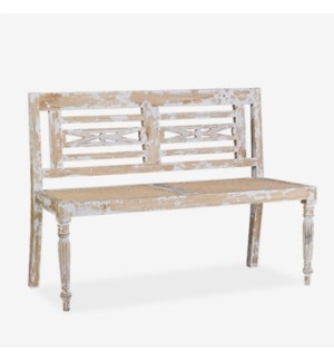 (30% Off) Raj Carved Bench