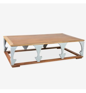 (LS) Epirus Coffee Table-Ant Light Grey (63X39X18)