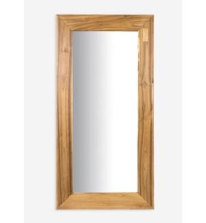 (LS) Natura Reclaimed teakwood mirror Rectangle (47X4X24)