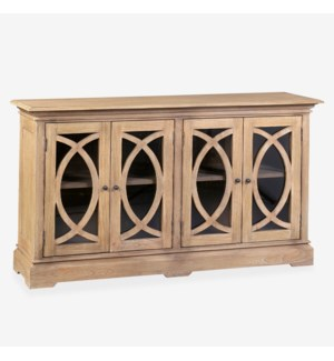 Collette Grill Front Sideboard, Light Brown