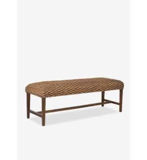Woven Natural Bench..(55x18x18.5)..