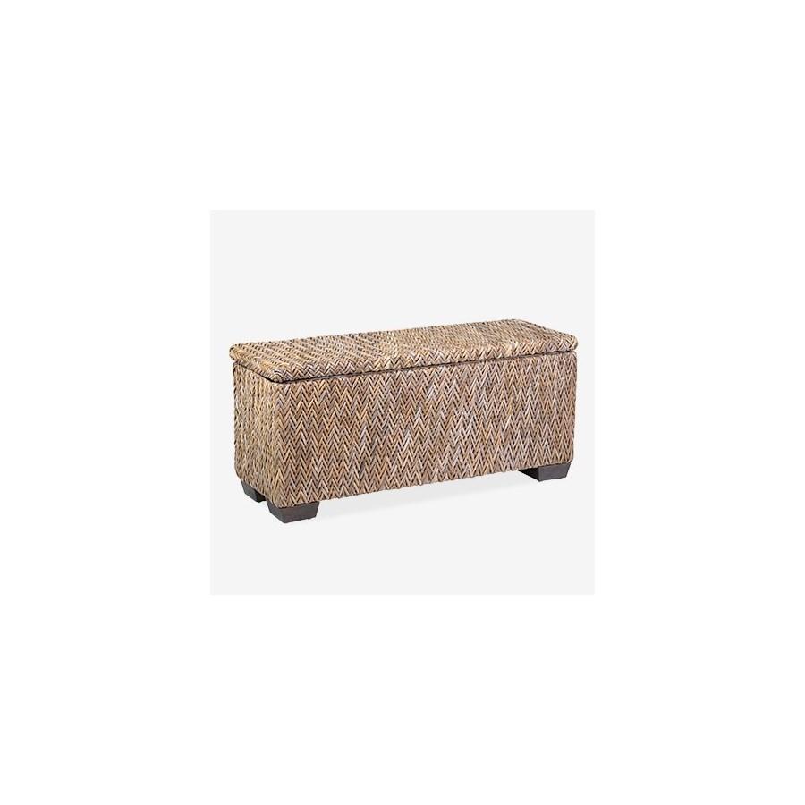 Paisley Bench With Shoe Storage - 39x14x18