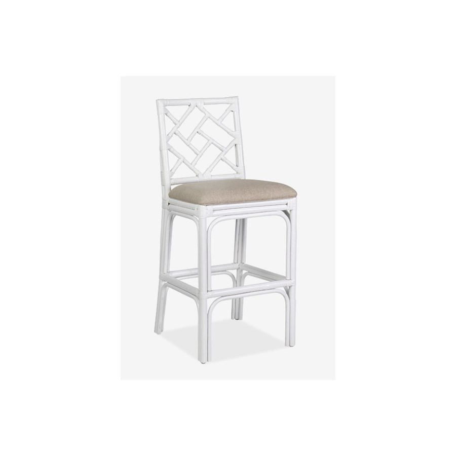 Hampton Chippendale Barstool White Bar Amp Counter