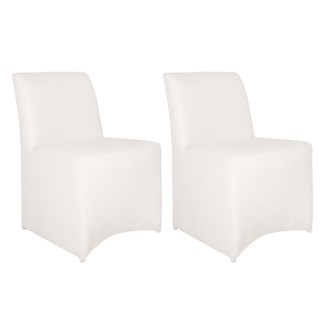 Outdoor Upholstered Chair - White Color MOQ 2 (22X25X33)