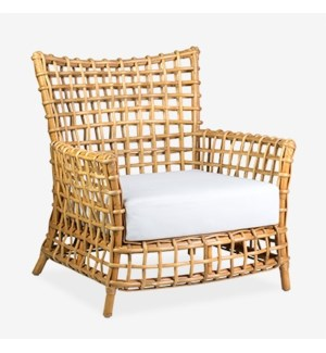 Bahama Occasional arm chair - Natural