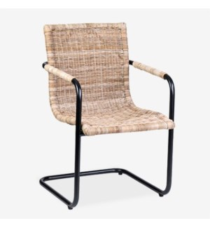 Soho Arm Chair - Rattan Grey
