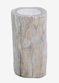 Hillside Organic wood side - grey stone (12x12x20)
