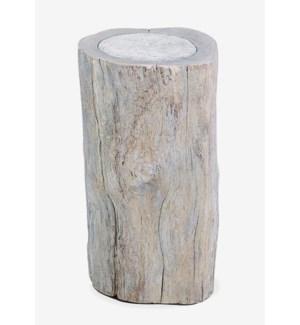 Hillside Organic wood side - grey stone (12x12x20)